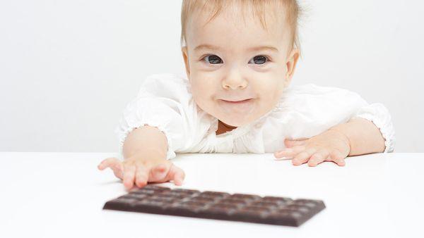 Πόσο κακό κάνει η σοκολάτα στα μωρά; σοκολάτα