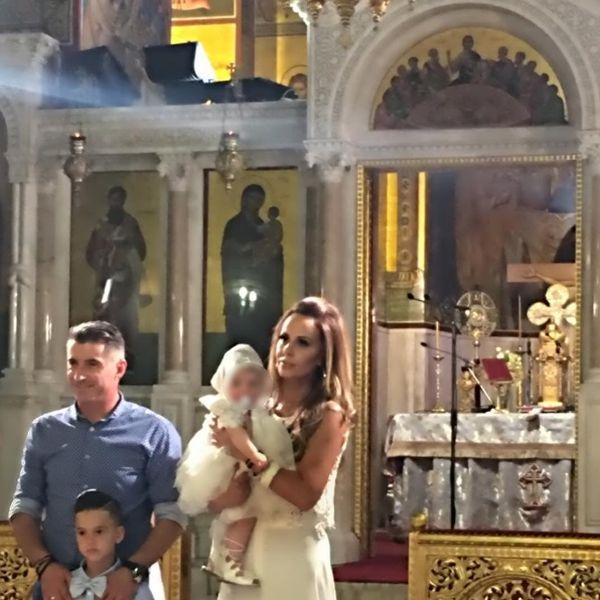 Ιωάννα Λίλη: Ο Θοδωρής Ζαγοράκης και ο γιος της έγιναν νονοί! παιδιά διασήμων Ιωάννα Λίλη Θοδωρής Ζαγοράκης