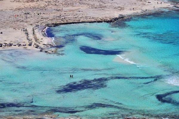 Μπάλος: Η γαλάζια λίμνη της Κρήτης (Φωτογραφίες-βίντεο) Χανιά Μπάλος διακοπές