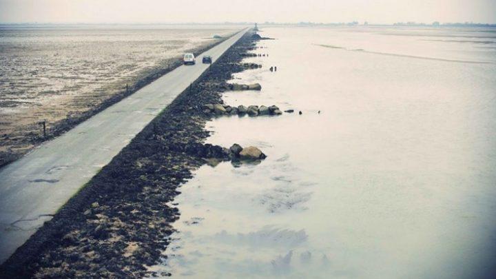 Ο δρόμος της Γαλλίας που… βυθίζεται (φωτογραφίες-βίντεο)! παράξενα παλίρροια Γαλλία