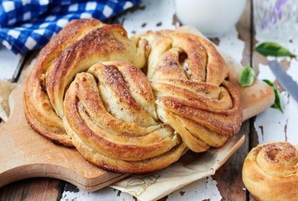 Συνταγή: Πανεύκολο ψωμί με κανέλα!