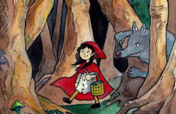 Το παραμύθι της Κοκκινοσκουφίτσας από την πλευρά του λύκου!