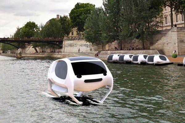 Βόλτα στο Παρίσι με ... Ιπτάμενα Ταξί! τεχνολογία ταξί Παρίσι