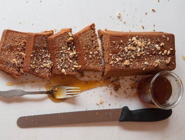 Μμμ απίστευτο: Κέικ μελομακάρονο από τον Στέλιο Παρλιάρο! Χριστούγεννα Στέλιος Παρλιάρος μελομακάρουνα κέικ