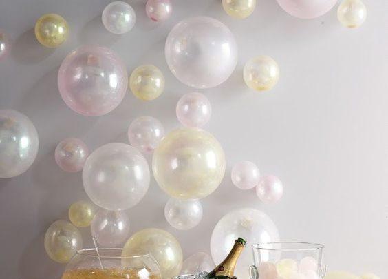 Διακοσμήστε το σπίτι σας με μπαλόνια για το πρωτοχρονιάτικο ρεβεγιόν! Χριστούγεννα ρεβεγιόν Πρωτοχρονιά μπαλόνια