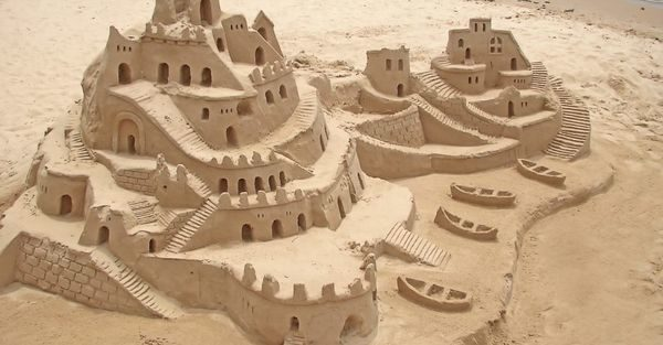 castle in the sand 600x313