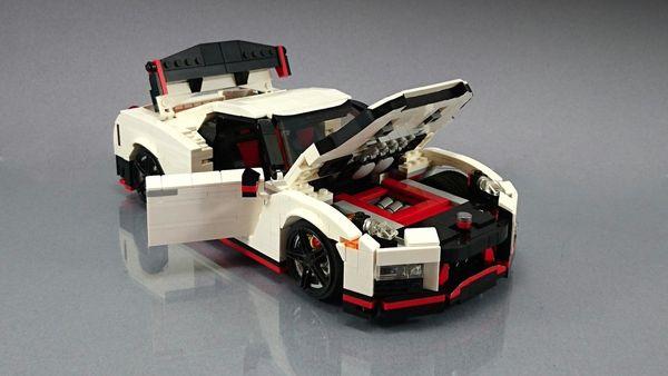 Το μοναδικό lego αυτοκινητάκι Nissan GT-R Nismo lego