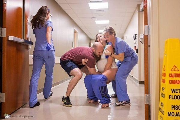 Γυναίκα γέννησε στο διάδρομο νοσοκομείου (φωτογραφίες) ! γέννηση μωρού
