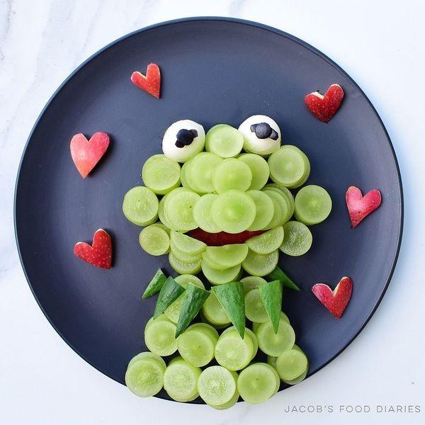 Yγιεινά δημιουργικά snacks για παιδιά (Φωτογραφίες) δημιουργική κουζίνα snacks