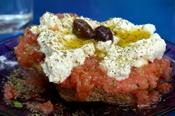 Ο ντάκος, ιδανικό σνακ του καλοκαιριού! σωστή διατροφή ντάκος καλοκαίρι snacks