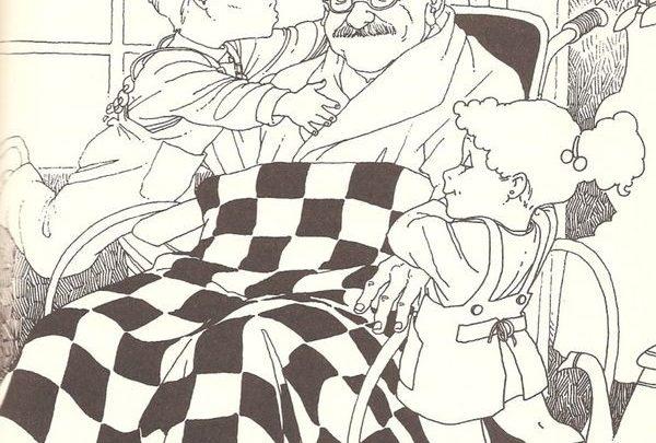 Πώς μίκρυνε ο παππούς...: Ένα υπέροχο παραμύθι από τη Λότη Πέτροβιτς-Ανδρουτσοπούλου παιδικό βιβλίο Λότη Πέτροβιτς-Ανδρουτσοπούλου