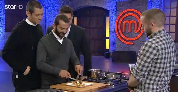 O κρητικός διαγωνιζόμενος στο MasterChef που εντυπωσίασε με το αυγό του (βίντεο)! Σωτήρης Κοντιζάς Λεωνίδας Κουτσόπουλος κρητική συνταγή Κρήτη Ηράκλειο αυγό Master Chef