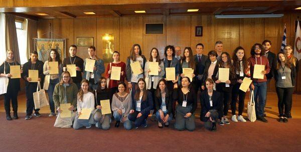 Σάρωσε τα βραβεία μαθητής από το Πειραματικό Λύκειο Ηρακλείου! φιλοσοφία Πειραματικό Λύκειο Ηρακλείου Μάνος Σπυριδάκης