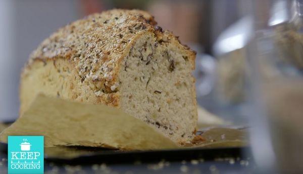 Συνταγή για ψωμί με μπύρα. Πεντανόστιμο και πανεύκολο! ψωμί μπύρα Αργυρώ Μπαρμπαρίγου