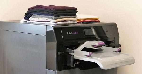 Η συσκευή που σιδερώνει και διπλώνει τα ρούχα είναι εδώ... (βίντεο) σιδέρωμα πρωτότυπες συσκευές foldimate