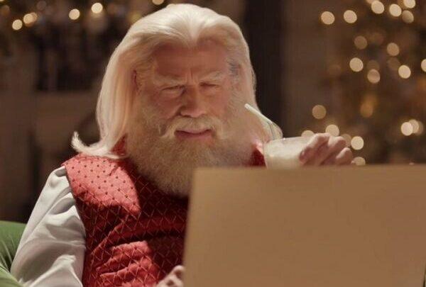 Ο Τζον Τραβόλτα έγινε… Άγιος Βασίλης (βίντεο) Χριστούγεννα Άγιος Βασίλης