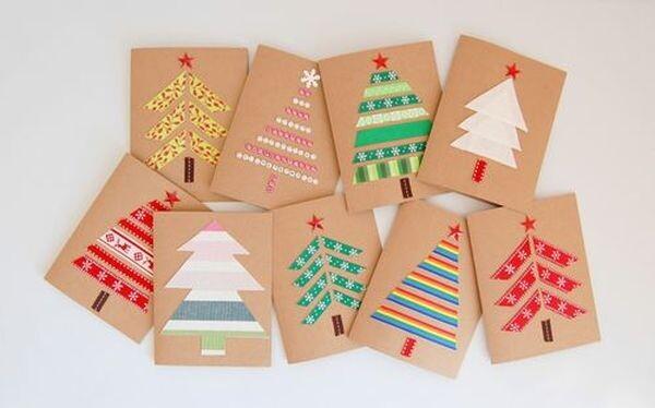 Φτιάξτε Χριστουγεννιάτικες Κάρτες με τα Παιδιά σας! Χριστούγεννα